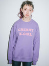 X-girl x Vanna Youngstein CREW SWEAT TOP, HOODIES & SWEATERS, X-girl