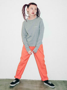 X-BABY COLOR EASY PANTS, PANTS, X-Girl
