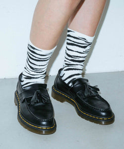 ZEBRA SOCKS, ACCESSORIES, X-Girl