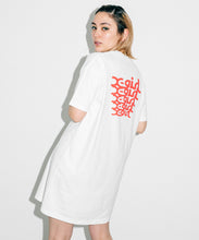 Load image into Gallery viewer, MESSAGE S/S TEE DRESS, DRESS, X-Girl