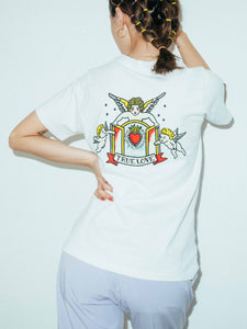 TATTOO S/S REGULAR TEE, T-SHIRTS, X-Girl