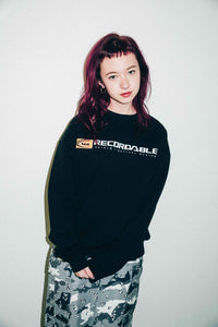 AUDIO CREW SWEAT TOP - X-girl