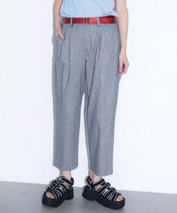 HOUNDSTOOTH TROUSER, PANTS, X-Girl