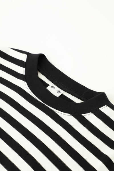 BASIC STRIPED L/S TEE, T-SHIRTS, X-Girl