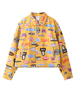 X-girl x HYSTERIC GLAMOUR ICONS JACKET, OUTERWEAR, X-Girl