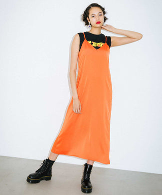 X-girl x FAFI CAMISOLE DRESS, DRESS, X-Girl
