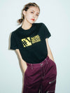 #1 BASIC LOGO S/S REGULAR TEE, T-SHIRTS, X-Girl