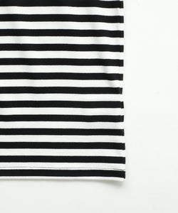 STRIPED RELAX S/S TEE, C&S, X-Girl