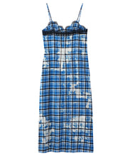 Load image into Gallery viewer, BLEACHED PLAID CAMI DRESS, DRESS, X-Girl