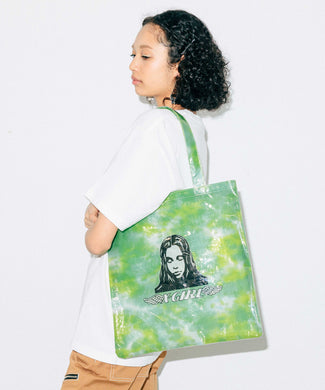 ANGEL FACE CLEAR TOTE BAG, ACCESSORIES, X-Girl