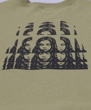 Load image into Gallery viewer, PSYCHEDELIC FACE CREW SWEAT TOP, HOODIES & SWEATERS, X-Girl