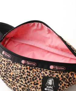 X-girl × LeSportsac EASY ROUNDED BELT BAG