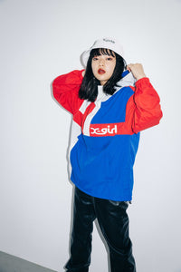 CRAZY COLOR ANORAK, JACKET, X-Girl