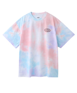 BURGER SHOP TIE-DYE S/S MENS TEE, T-SHIRT, X-Girl