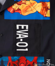 Load image into Gallery viewer, X-girl x EVANGELION OPEN COLLAR SHIRT, SHIRT, X-Girl