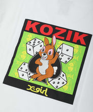Load image into Gallery viewer, X-girl x KOZIK BUNNY S/S MENS TEE, T-SHIRTS, X-Girl