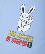Load image into Gallery viewer, X-girl x KOZIK SMOKING BUNNY S/S TEE DRESS, DRESSES, X-Girl