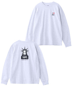 FEMINISM L/S REGULAR TEE, T-SHIRT, X-Girl