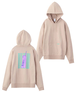 RETRO PHONE SWEAT HOODIE - X-girl