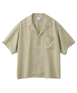 RAYON CROPPED SHIRT, SHIRT, X-Girl
