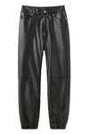 FAUX LEATHER JOGGER PANTS, SHORTS & PANTS, X-Girl