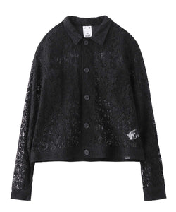 LACE SHIRT JACKET, OUTERWEAR, X-Girl