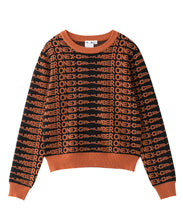 Load image into Gallery viewer, #1 JACQUARD KNIT TOP, TOPS, X-Girl