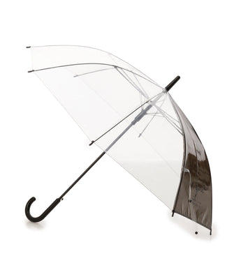 CURSIVE LOGO CLEAR UMBRELLA, ACCESSORIES, X-Girl