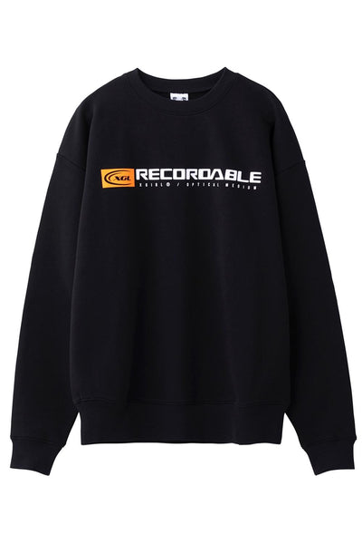 AUDIO CREW SWEAT TOP, HOODIES & SWEATERS, X-Girl