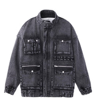 Load image into Gallery viewer, BOA DENIM JACKET, OUTERWEAR, X-Girl