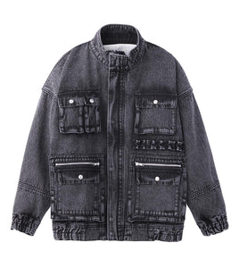 BOA DENIM JACKET, OUTERWEAR, X-Girl