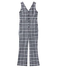 Load image into Gallery viewer, PLAID JUMPSUIT, OVERALLS, X-Girl