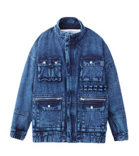 Load image into Gallery viewer, BOA DENIM JACKET - X-girl