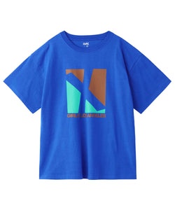 SQUARE LOGO S/S MENS TEE, T-SHIRTS, X-Girl