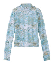 Load image into Gallery viewer, MARBLE MESH L/S TOP, TOPS, X-Girl