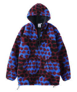 HEART BOA HOODED TUNIC, HOODIES & SWEATERS, X-Girl