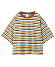 Load image into Gallery viewer, STRIPED S/S TEE, C&S, X-Girl