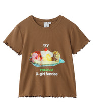 Load image into Gallery viewer, LETTUCE EDGE SUNDAE S/S BABY TEE, T-SHIRT, X-Girl