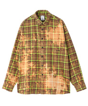 Load image into Gallery viewer, BLEACHED PLAID SHIRT, SHIRT, X-Girl