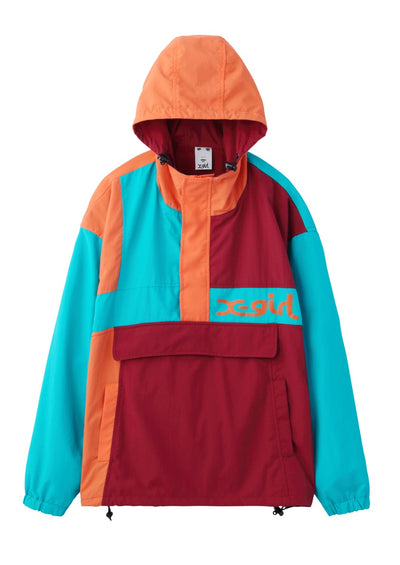 CRAZY COLOR ANORAK, JACKETS, X-Girl