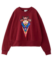 Load image into Gallery viewer, #1 CAT MAN CREW SWEAT TOP, HOODIES & SWEATERS, X-Girl