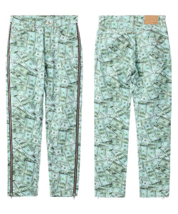 X-girl x YURINO SIDE FULL ZIP PANTS, PANTS, X-Girl