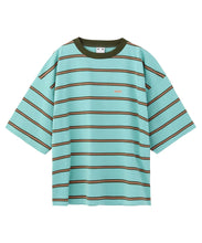 Load image into Gallery viewer, STRIPED H/S TEE, C&S, X-girl