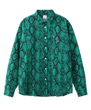 Load image into Gallery viewer, SNAKE PATTERN SHIRT, SHIRT, X-Girl