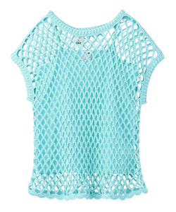 BIG MESH TOP, TOPS, X-Girl
