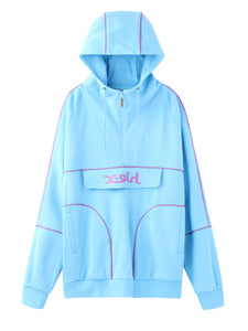 SWEAT ANORAK - X-girl