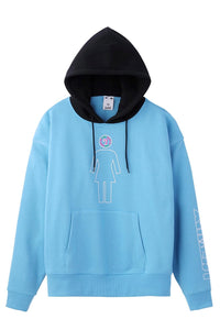 #1 X-girl x GIRL SKATEBOARDS SWEAT HOODIE, HOODIES & SWEATERS, X-Girl