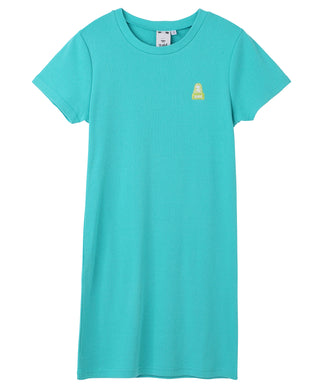 FACE COMPACT S/S TEE DRESS
