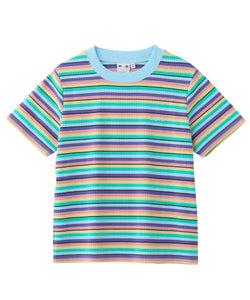 STRIPED S/S TOP, T-SHIRTS, X-Girl
