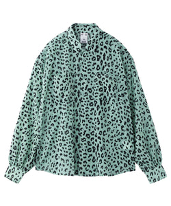 SHEER LEOPARD SHIRT, SHIRT, X-Girl